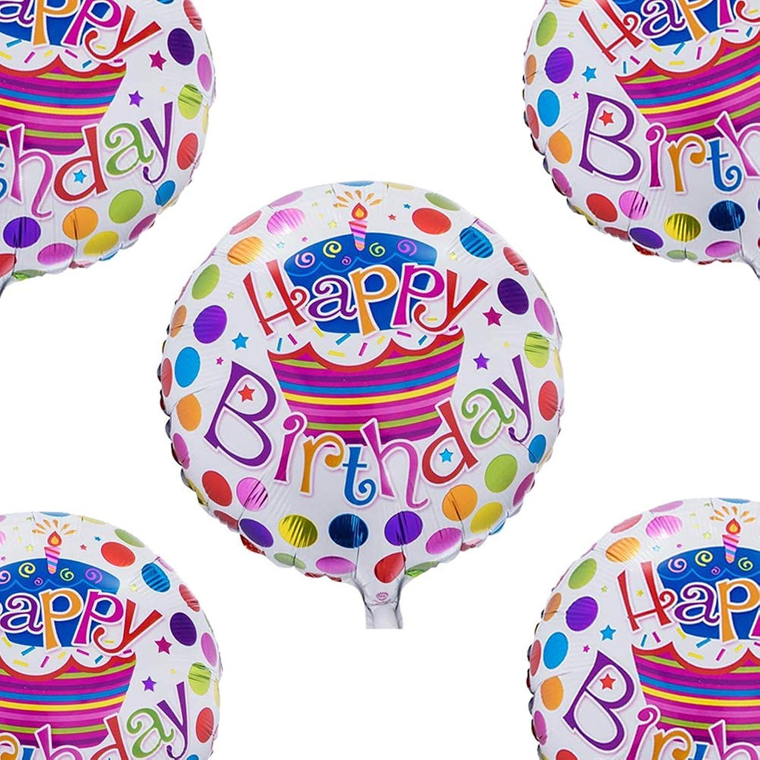 Happy Birthday Foil Mylar Helium Balloon, 18