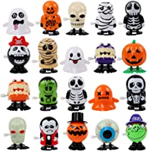 FUNARTY 20 Pack Halloween Wind Up Clockwork Toys for Halloween Party Favor Supplies Trick or Treat Bags Halloween Goodie Bag Filler
