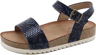 Sandali con Plateau Donna Moda Pantofole da Spiaggia Antiscivolo Estate Ciabatte in Punta Aperta Comode