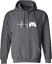 Heartbeat of a Gamer 2 Adult Hooded Sweatshirt