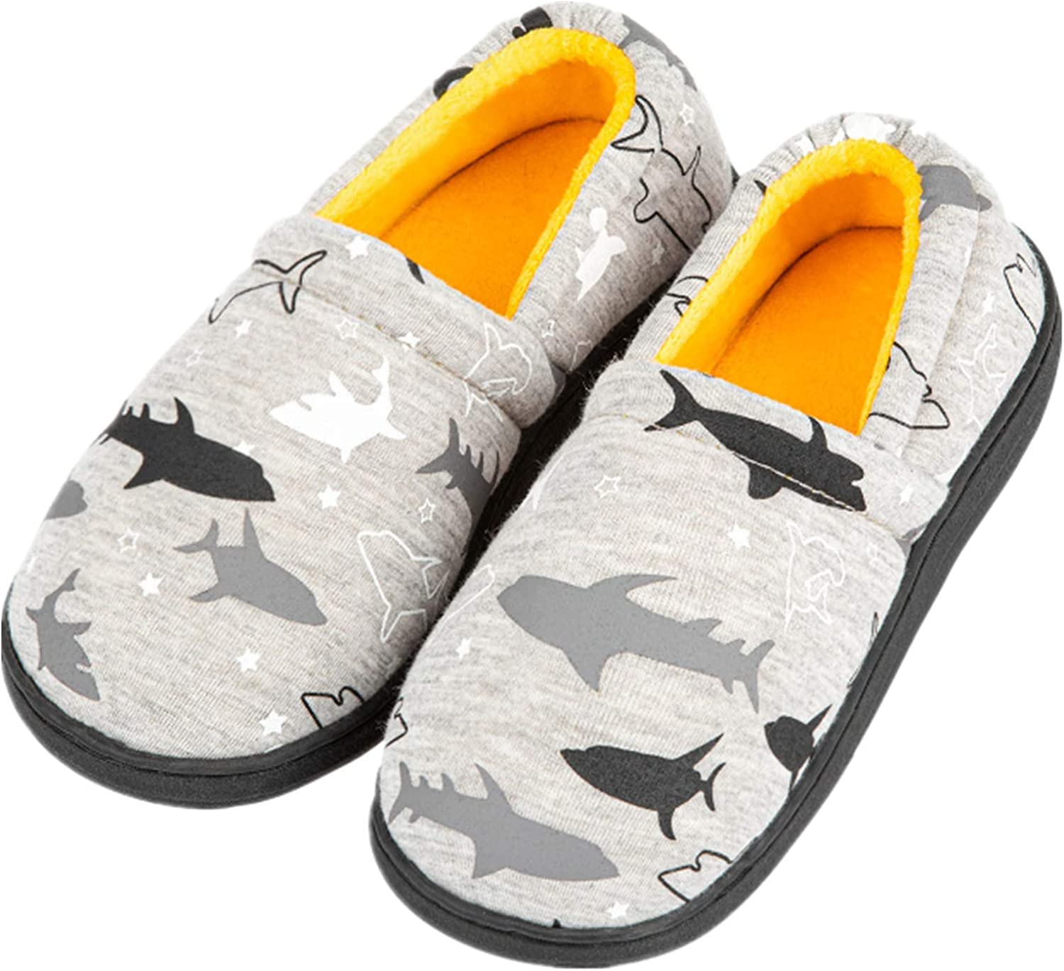 Little Ranking TOP8 Kids Big Boys House Classic Slippers Warm Slip Fur On Lined