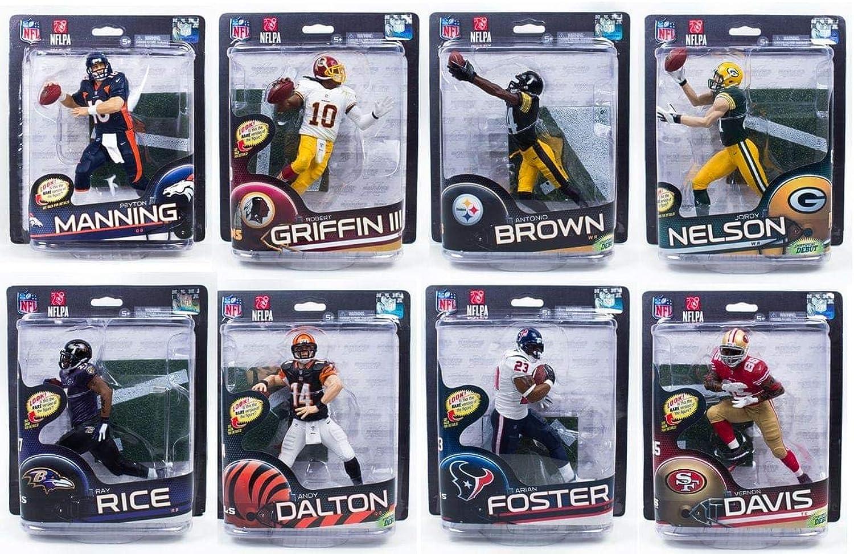 marca de lujo NFL McFarlane Series Series Series 32 Assorted Sealed Case of 8 Figuras  barato