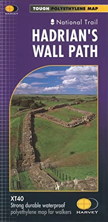 Harvey National Trail Map ~ Hadrians Wall Path