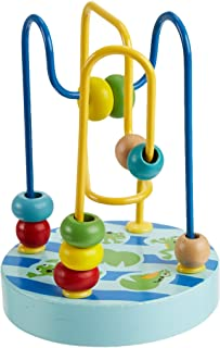 Manhattan Toy Wobble-A-Round 珠子 蓝色
