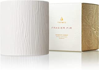 Thymes - Frasier Fir Ceramic Poured Candle, Medium - 11 Ounces