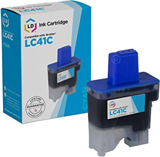 LD Compatible Ink Cartridge Replacement for Brother LC41C (Cyan)