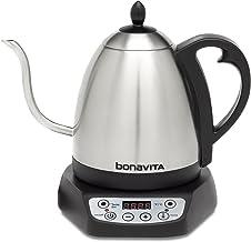 Bonavita Tetera de temperatura variable, Metálico, 1.0 Liters, 1, 1
