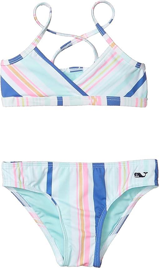 Stripe/Malibu Pink