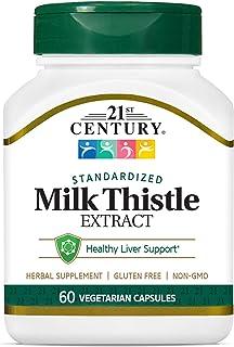 21st Century Milk Thistle - 60 Capsules