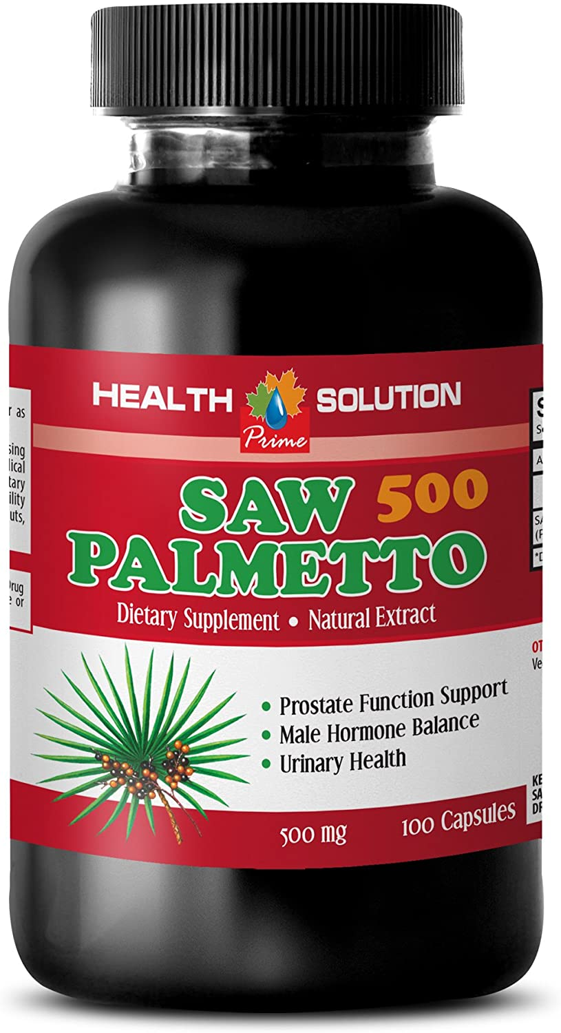 Prostate Support Supplement Real Health 500 Palmetto Japan's largest assortment Saw - Mg High material