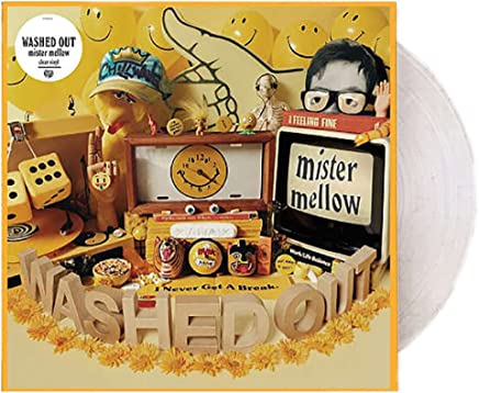 Washed Out - Mister Mellow Limited LP Exclusive Clear Vinyl