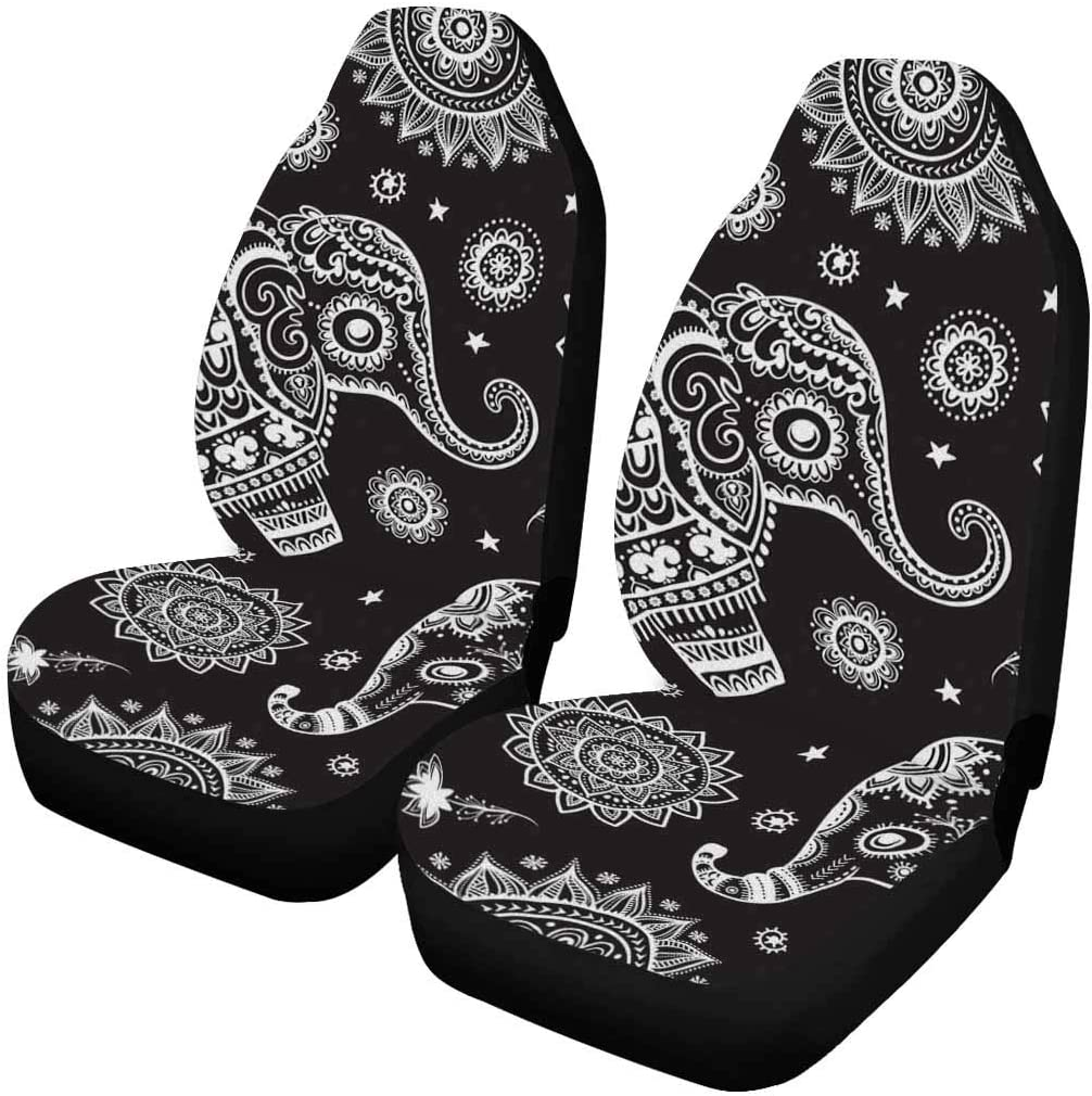 INTERESTPRINT Elephants in The Clouds Auto Seat All items free shipping Bargain pc Covers 2 Ent