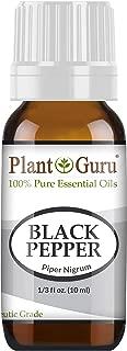 Black Pepper Essential Oil 10 ml Piper Nigrum 100% Pure Undiluted Therapeutic Grade.