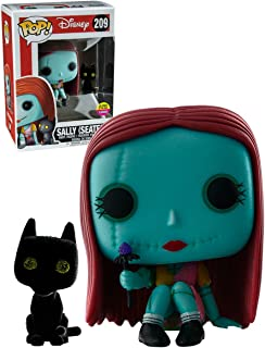 Funko POP! Nightmare Before Christmas Exclusive #209 Glow in the Dark, Flocked SEATED SALLY