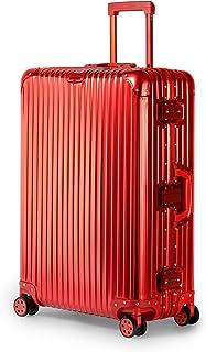 Kenza Boulder Superior Full Aluminium Ultra-Light Hardside Expandable, Built-In TSA Lock, Zipperless Luggage with Spinner ...