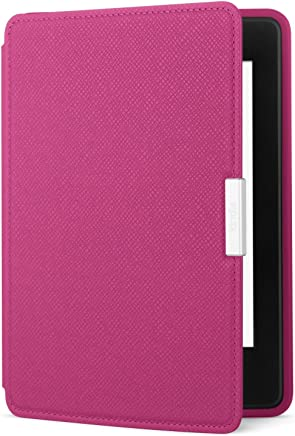 Amazon Kindle Paperwhite Leather Case, Fuchsia - does not fit Paperwhite Generation 10