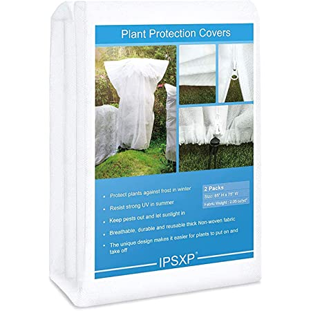 Plant Cover 135/'/'x120/'/'x48/'/' Winter Frost Protection Greenhouse Cover
