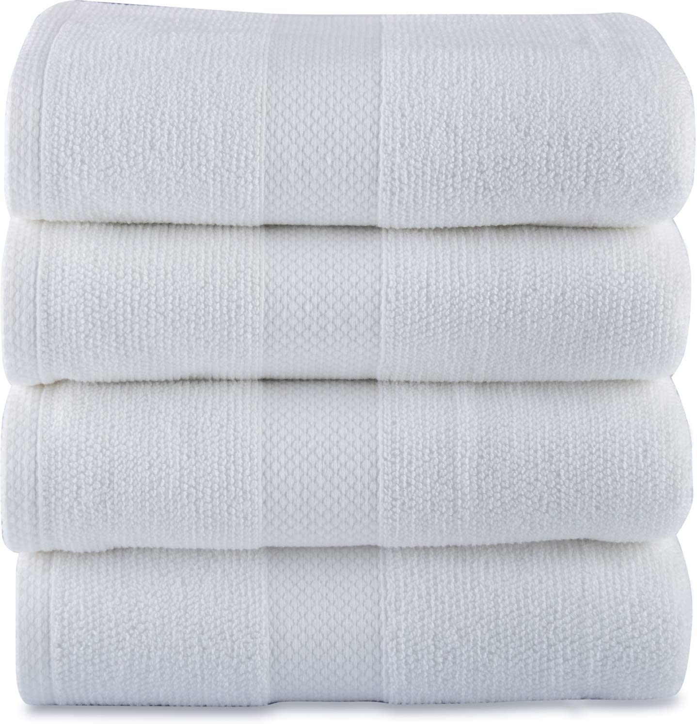 Maura Bath Max 44% OFF Towels White Easy-to-use Grey 100% with 27