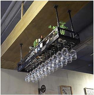 HZWLF Casier à Verre à vin créatif, Porte-gobelet, Porte-Verre Suspendu à l'envers pour Le ménage, Porte-Verre à vin europ...
