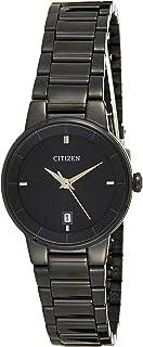CITIZEN Women's Quartz Watch, Analog Display and Stainless Steel Strap EU6017-54E