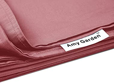 Amy Garden Duvet Cover for Weighted Blanket, Pink - 60x80 Inch