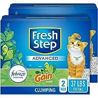 Deals on 2PK Fresh Step Advanced Cat Litter Clumping Cat Litter 18.5 lb