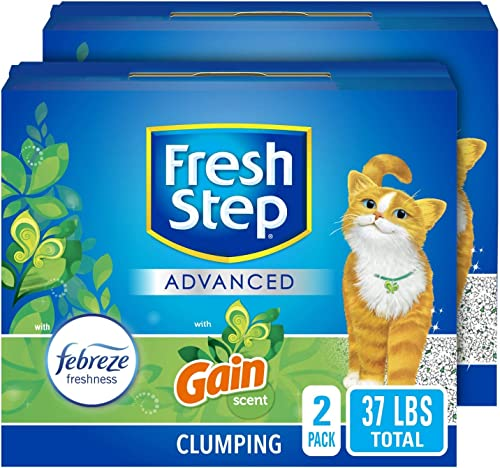 Fresh Step Advanced Clumping Cat Litter