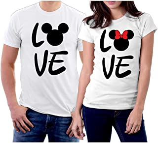 picontshirt Matching Love MM Couple T-Shirts