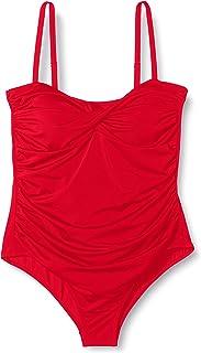Marca Amazon - IRIS & LILLY, Bañador Moldeador Mujer