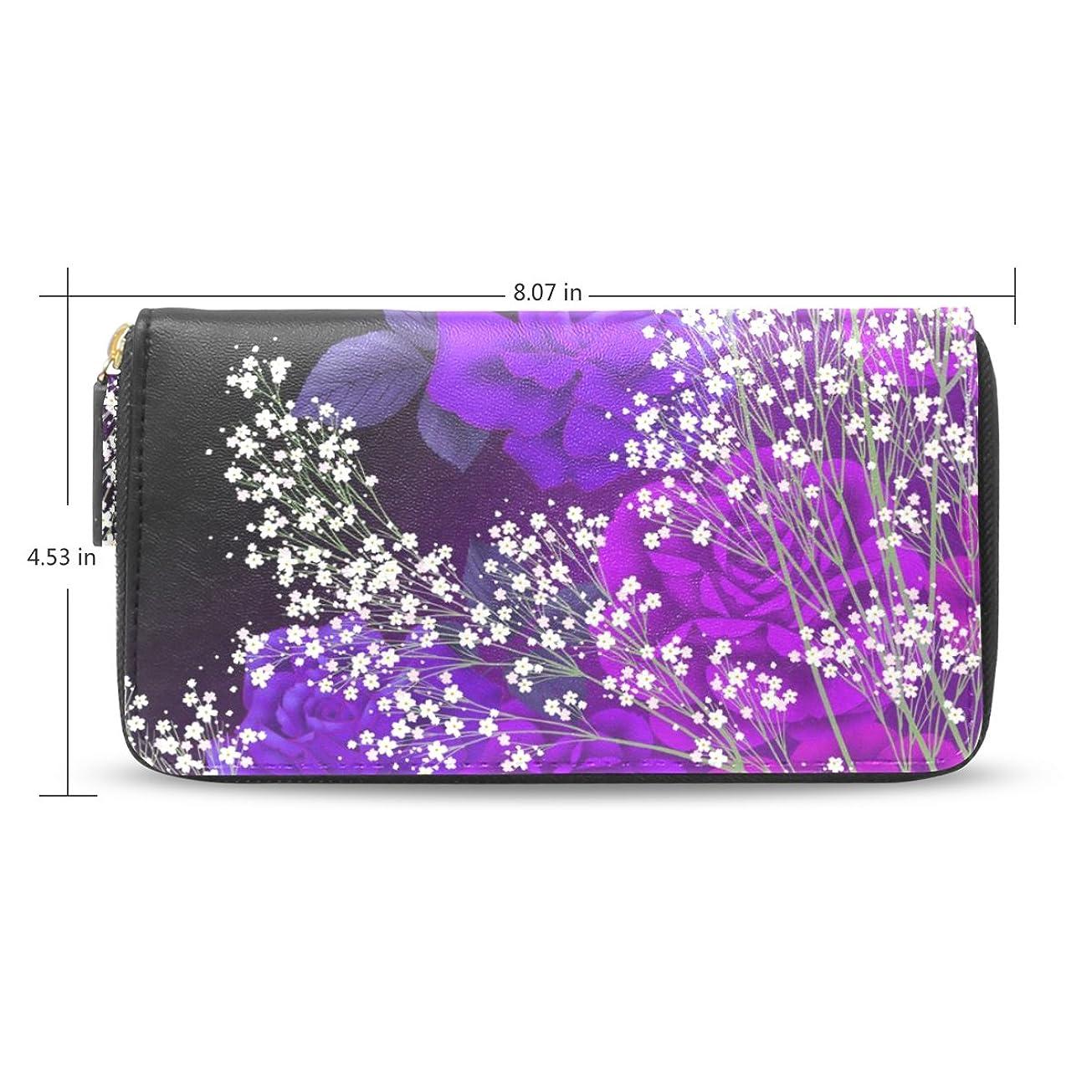 口述快適ながらUSAKI(ユサキ) レディース メンズ ファスナー 財布,かわいい 和風 和柄 きれい 花柄 小柄,お札 小銭 カード入れ 大容量 長財布 入学式 卒業式 誕生日 プレゼント M56