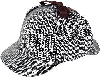 89988af2f79 Sherlock Holmes Caps Detective Hats Deerstalker Cap Hat Props