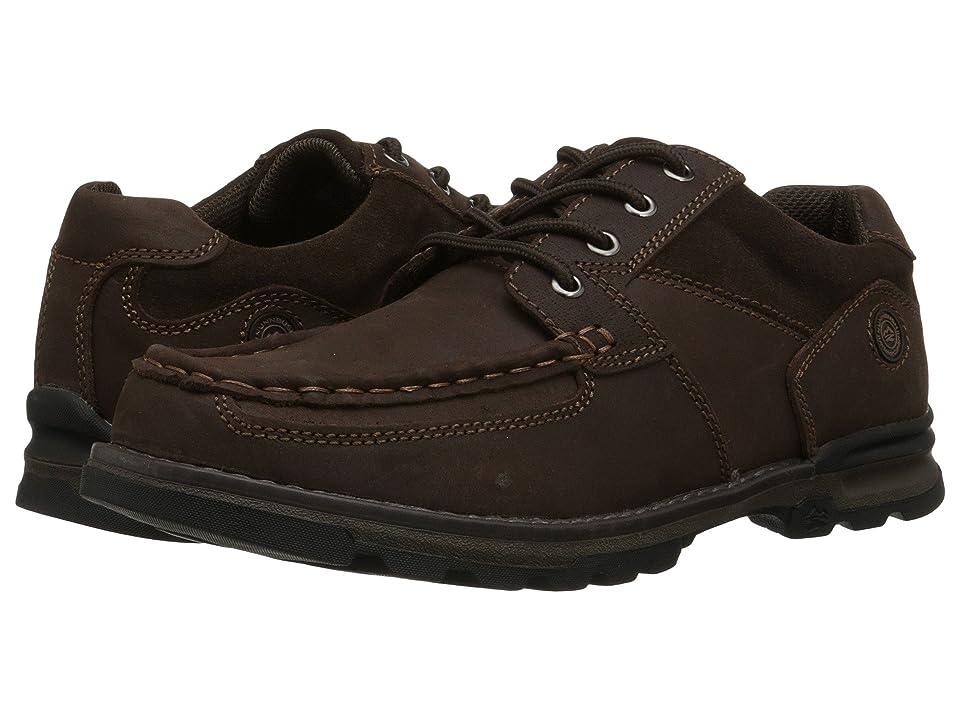 Nunn Bush Plover Moc Toe Oxford All Terrain Comfort (Brown) Men