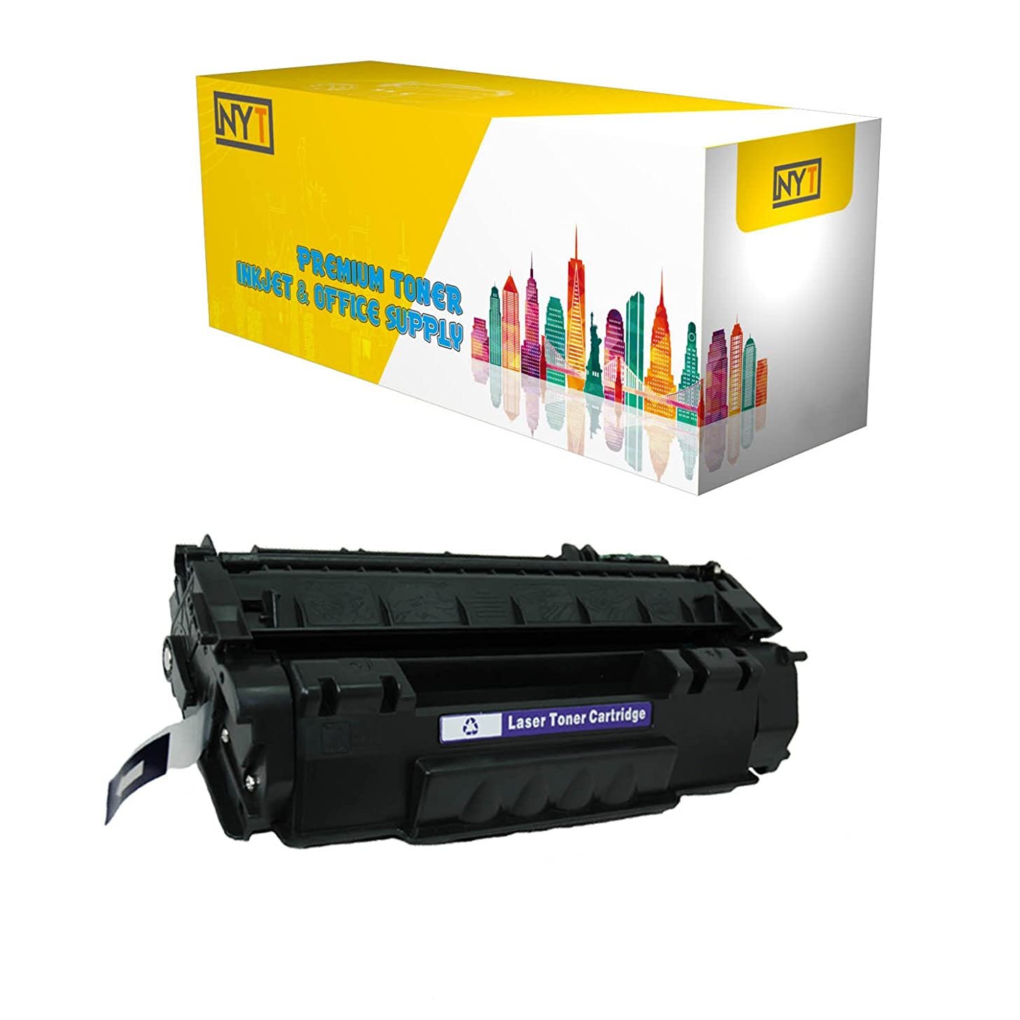 New York Toner Compatible Compatible Toner Cartridge Replacement for HP Q7553A