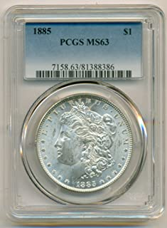 1885 Morgan Silver Dollar MS63 PCGS
