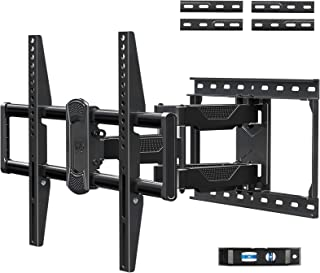 Mounting Dream Full Motion TV Mount for Most 42-70 Inch TVs, Adjustable TV Mount Swivel and Tilt with Articulating Dual Ar...