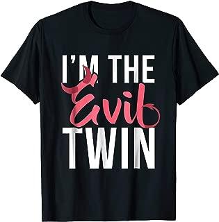 Im The Evil Twin   Funny Halloween Horror Shirt