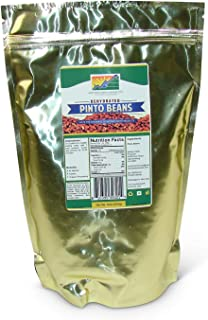 Mother Earth Products Dehydrated Pinto Beans (quart mylar bag)