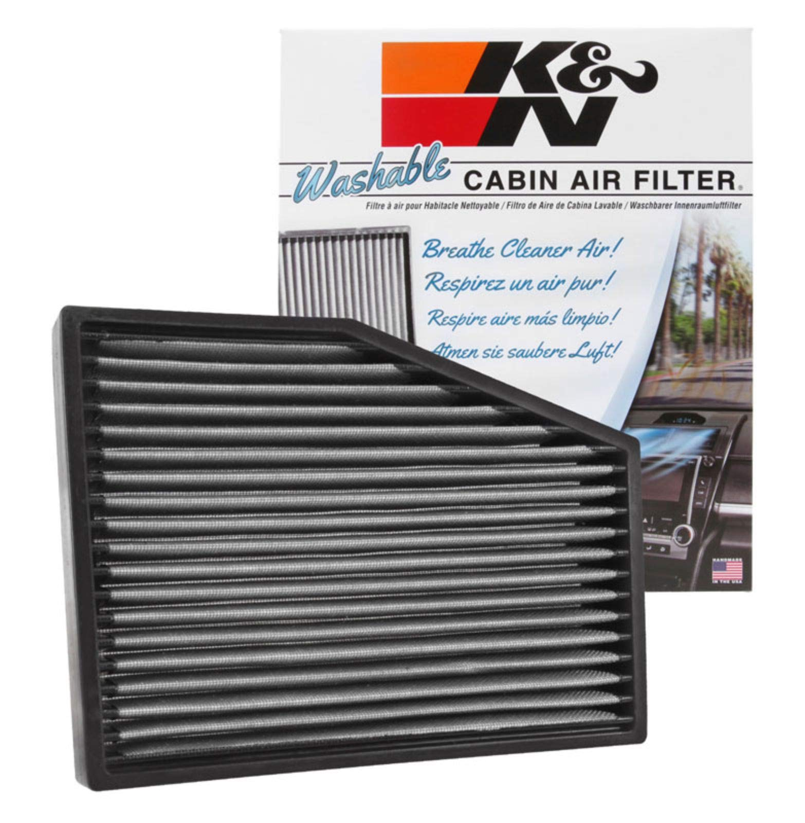 K/&N Filters VF3013 Car Cabin Air Filter