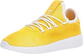 adidas Originals Unisex PW Tennis HU C Sneaker, Bold Orange, FTWR White, 11.5K M US Little Kid