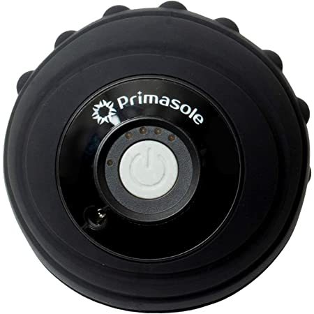 【Amazon限定ブランド】プリマソーレ(primasole) 振動ボール 筋膜リリースボール 電動フォームローラー 4段階振動調整