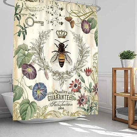 Soleil d Ocre Panama Net Curtain for Door Window Blue 70x200/cm Panama Cotton 70/x 200/cm Cotton
