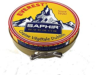 Saphir Everest Dubbin Shoe Grease - Vegetable Oil, Nourishes & Conditions