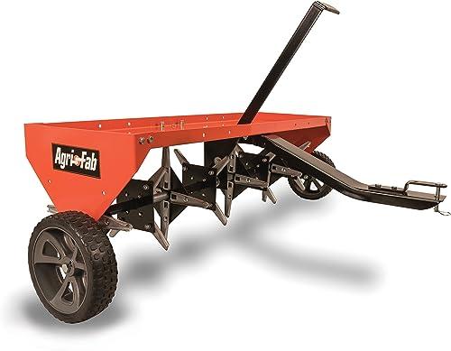 Agri-Fab-45-0299-48-Inch-Tow-Plug-Aerator,Orange-&-Black,Large