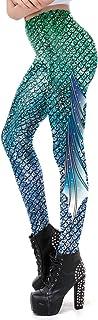 color cosplayer Women Mermaid Leggings Various Styles Ultra/Super Soft Pants