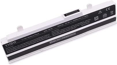vhbw Li-Ion Akku 6600mAh 10 8V wei f r Notebook Laptop Asus Eee PC 1015 1015B 1015P 1015PD wie A32-1015 A31-1015 AL31-1015 PL32-1015 Schätzpreis : 26,99 €