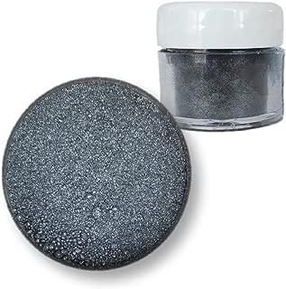 Moonstone Dark Silver Edible Luster Dust, 4g Jar | Bakell Food Grade Decorating Glitters & Dusts for Dessert, Foods & Drinks