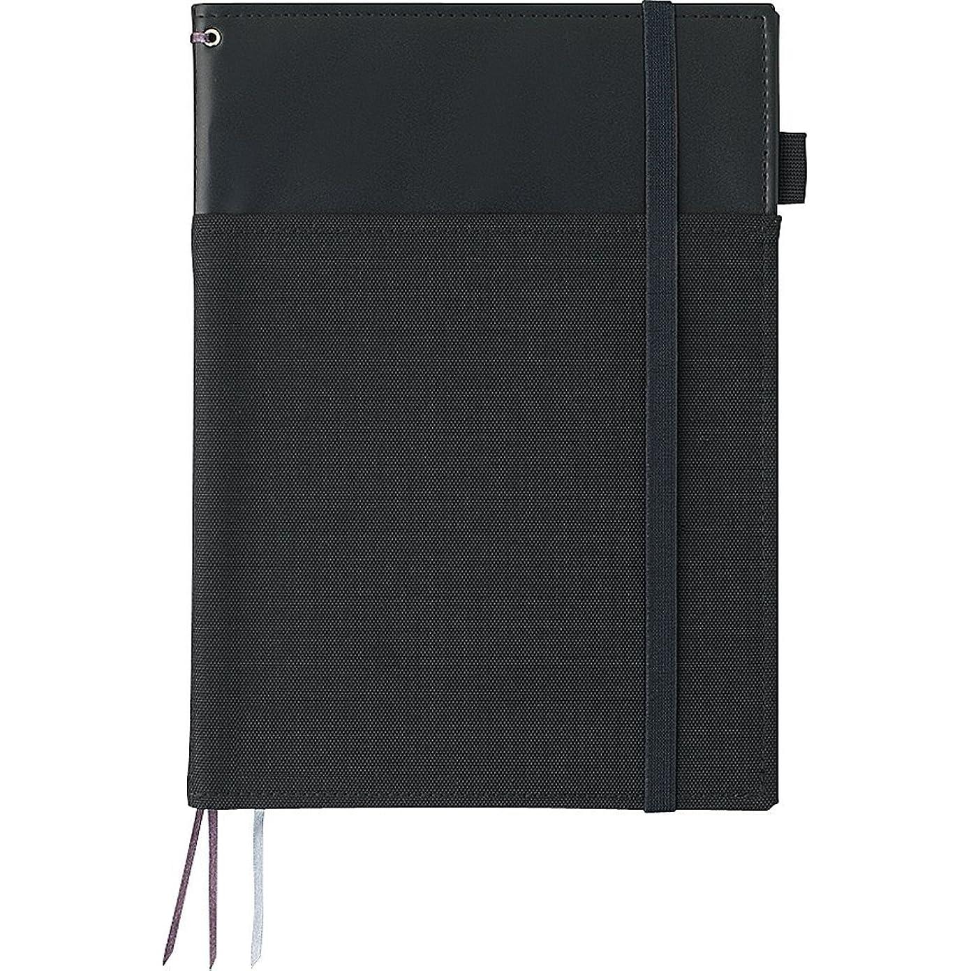 定期的なかご組み立てるコクヨ カバーノート システミック リングノート対応 B5 レザー調 黒 40枚 ノ-V683B-D 【まとめ買い3冊セット】