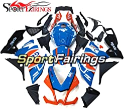 Sportfairings Gulf Blue Black Injection ABS Fairing Kits For Aprilia RS4 125 RS125 2012 2013 Year 12 13 Motorcycle Body Kits