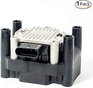 Ignition Coil Pack for VW Beetle Golf Jetta Clasico Crossfox Polo Lupo Saveiro Transporter Audi A3 Seat Leon Ibiza Cordoba...