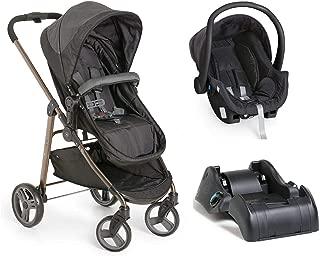 Carrinho de Bebê Moisés Olympus Black Bebê conforto e Base - Galzerano